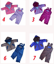 ДЕМИ и зимние термо куртки,  брюки,  комбинезоны. Польша.
