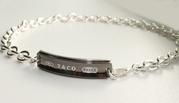Подарок для любимого! Качественная серебряная копия Tiffany&Co (TN033B
