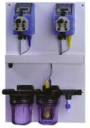 Автоматическая станция дозирования химии для бассейнов.