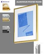 Рамки алюминиевые А4,  А3,  А2,  А1 формат