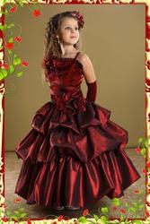 Прокат детских вечерних платьев