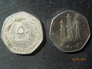 монета Страна:   Объединенные Арабские Эмираты (ОАЭ)