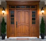 Изготовим и установим деревянные двери