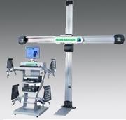 Компьютерный стенд регулировки углов установки колес,  3D технология -