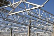 пространственные металлоконструкции;  быстровозводимые здания