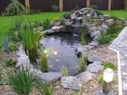 Проектирование фонтанов и искусственных водоемов,  систем автоматического  полива.