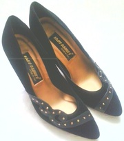 Туфли женские кожа замшевая,  новые,  производство Италия,  размер 37