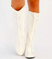 Недорогие модные сапоги