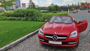 Прокат Mercedes-Benz SLK red для торжеств,  свадеб