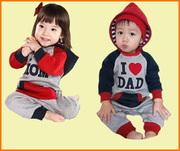 Спортивный костюм,  мама папа,  для маленьких детей