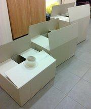 Продам картонные коробки (ящики)