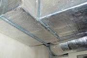 Изоляция воздуховодов,  изоляция труб,  утеплитель Алюфом. Пенофол 067-612-26-21