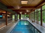 Вентиляция бассейнов различного типа.