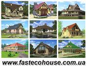 Канадские дома,  коттеджи в Украине,  строительство загородных домов