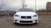 Аренда с водителем Lexus GS 250  белого цвета для торжеств,  деловых поездок,  свадеб