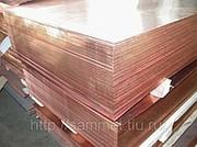 Медь лист ¹0.4 - 25*600*1500