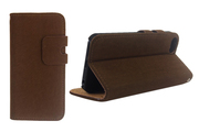 Чехол Soft Feel Leather Deep Brown. [Чехлы для iphone 5/5s]
