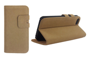 Чехол Soft Feel Leather Beige. [Чехлы для iphone 5/5s]