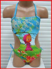Продаю  детский купальник  для девочки с изображением Маши!