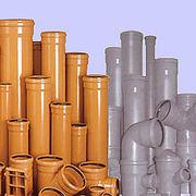 Трубы ПВХ и фитинги для наружной канализации ф110-500 Донецк