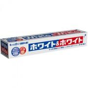 Японская зубная паста WHITE&WHITE отбеливающая с кальцием 150 гр.