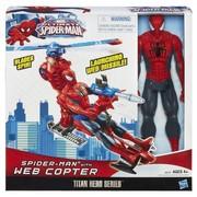 Человек паук с транспортом