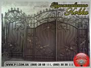 Ворота кованые,  сварные,  решетчатые,  арочные под заказ Мариуполь,  фото