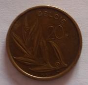 20 франков Бельгия