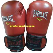 Боксёрские перчатки «Everlast»(Пакистан,  кожа)