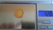 Монету 5 Рублей 1898г, червоное золото