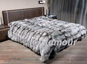 Пошив меховых пледов,  ковров,  подушек в Донецке
