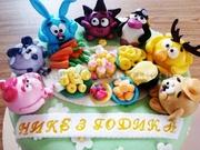Детские торты в  Донецке от Эли