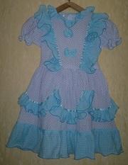 Платье на девочку 30-34 р-р (116-134)