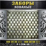Заборы металлические,  решетчатые,  кованые,  вставки секции заборов,