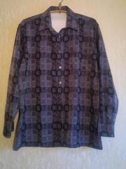 Мужская рубашка ,  размер 52-56
