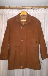 Новое мужское кашемировое пальто размер 54-56