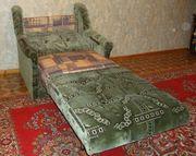Широкое раскладное кресло-кровать,  ширина - 75см.