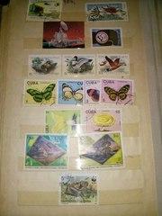 Продам марки разных стран 1972-1989гг.Всего 268 марок