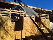 Строительство в Донецке. Каркасное строительство.