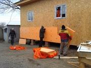 Утепление зданий,  частных домов,  фундаментов,  крыш. Строительные работ