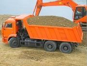 Песок,  щебень,  шлак для строительства,  машинные нормы. В Донецке.