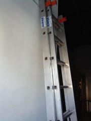 Двухсекционная алюминиевая лестница