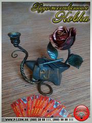 Подарки на дни Рождения и другие праздники,  кованые изделия,  ручная ко