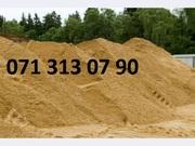 Доставка песка строительного