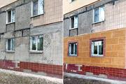 Утепление фасадов термопанели (гибкий камень)